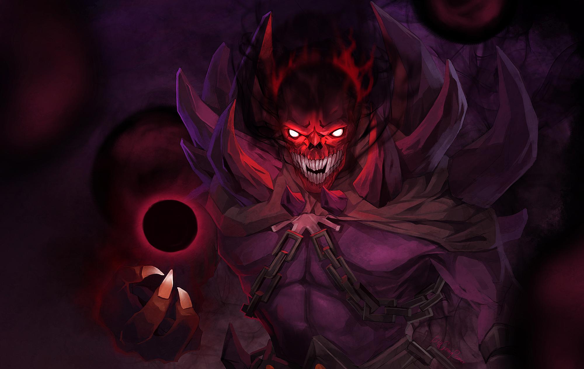 dota2 shadow demon by biggreenpepper on deviantart