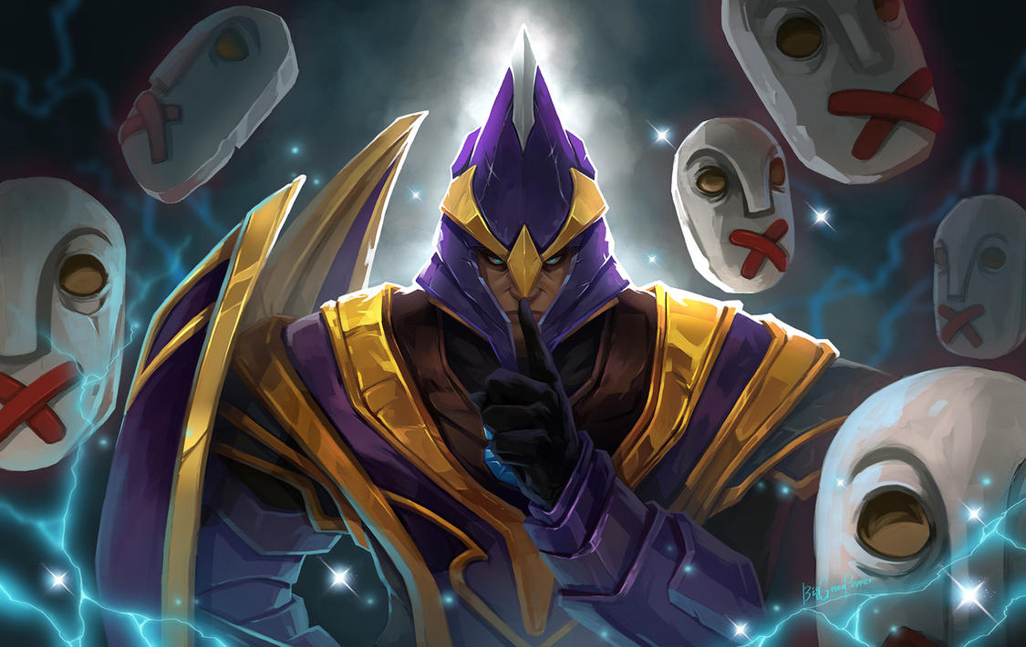 dota2 Silencer by biggreenpepper