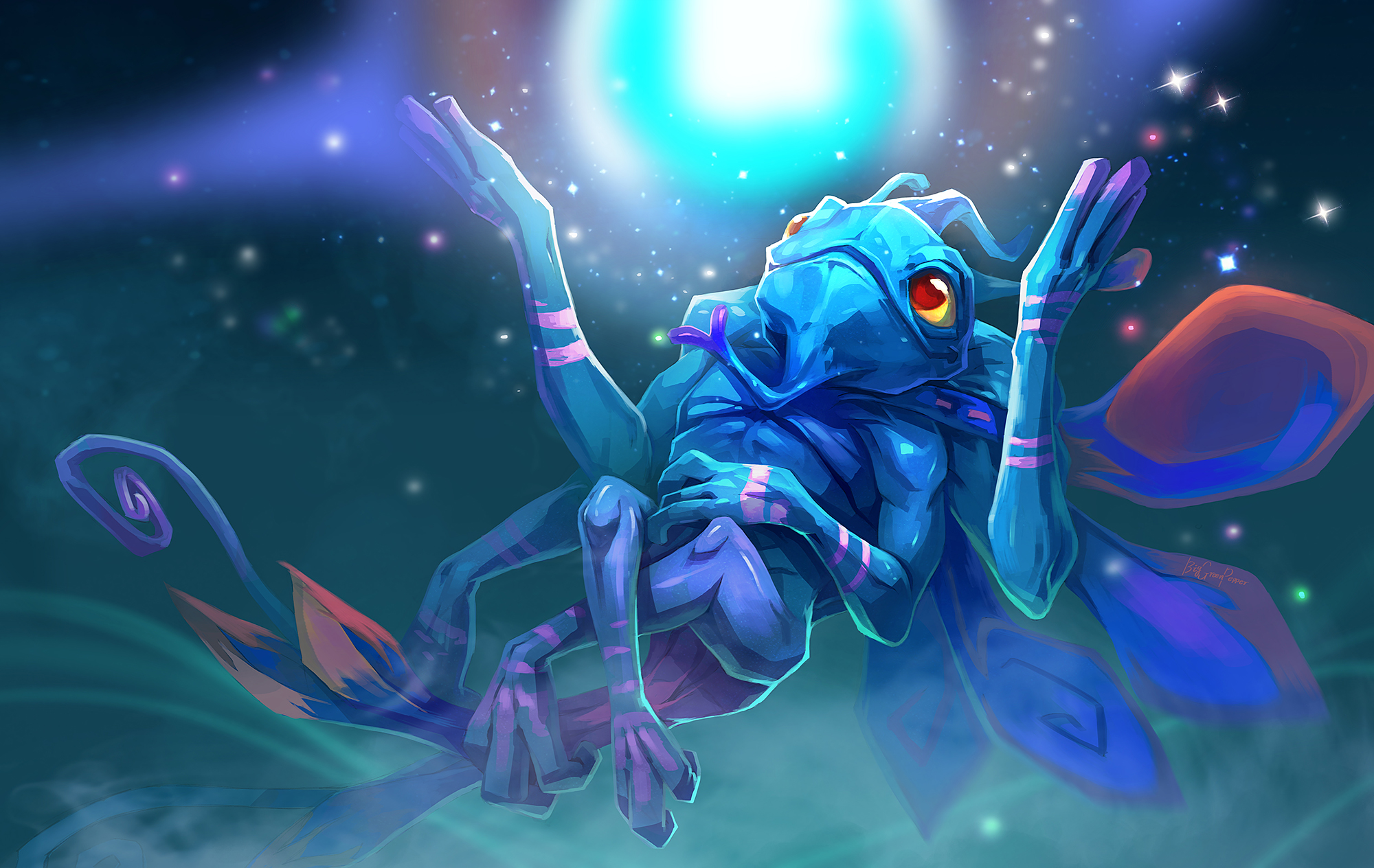 dota2 Puck by biggreenpepper on DeviantArt