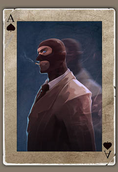 TF2 Poker spy