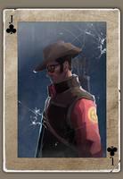 TF2 Poker sniper by biggreenpepper