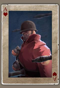 TF2 Poker soldier