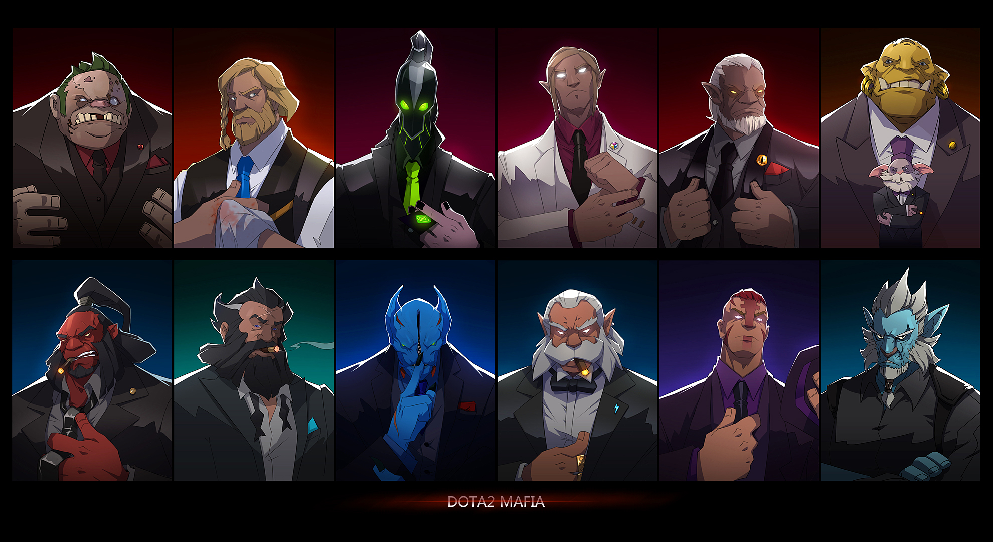 dota2 wallpaper by biggreenpepper on deviantart