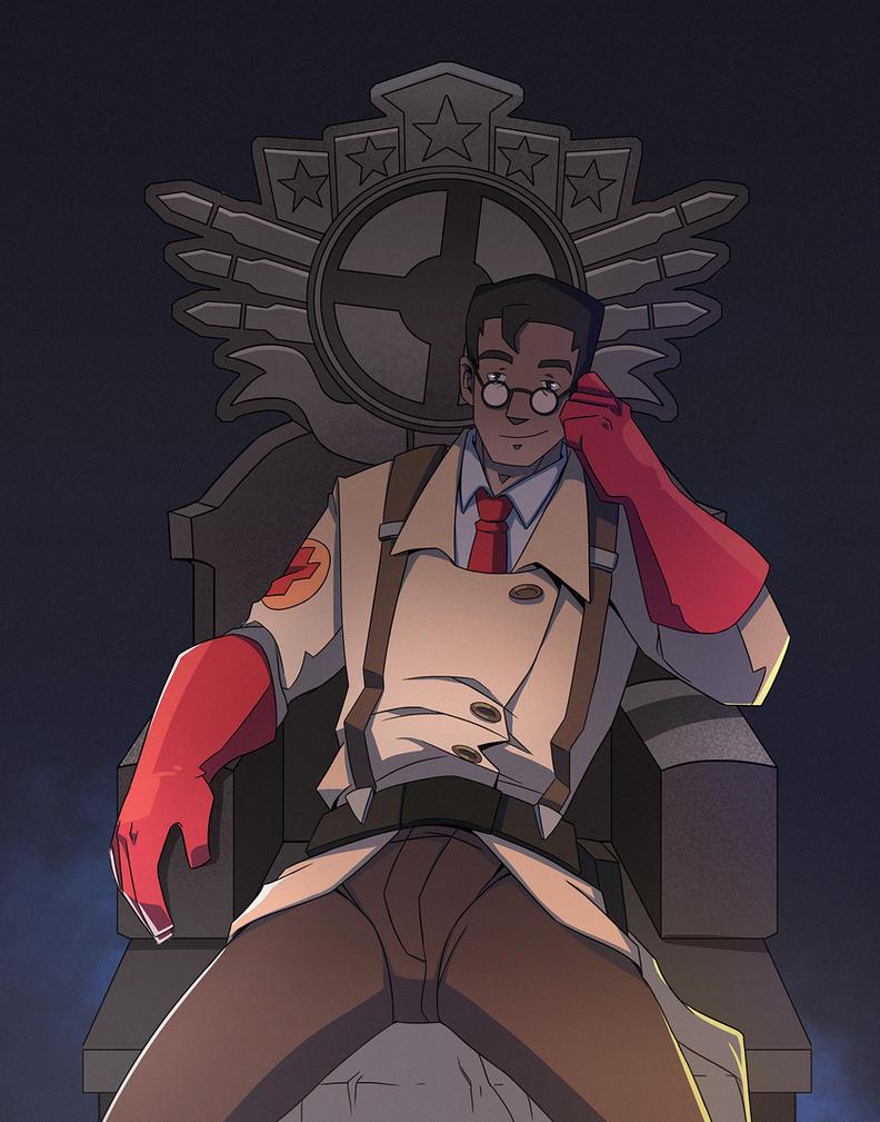 Meet the Overwatch Medic by CelestialDarkMatter on DeviantArt