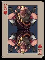 pokerTF2 K heavy red by biggreenpepper