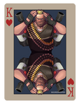 pokerTF2 K heavy red