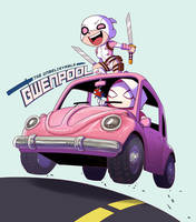 Gwenpool Beetle by biggreenpepper