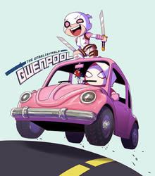 Gwenpool Beetle by biggreenpepper