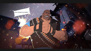 TF2 heavy Give me back my medic by biggreenpepper