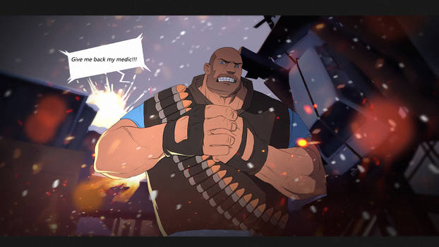 TF2 heavy Give me back my medic