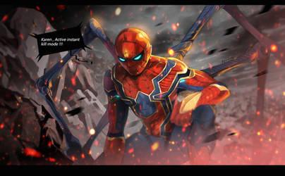 Iron spider by biggreenpepper