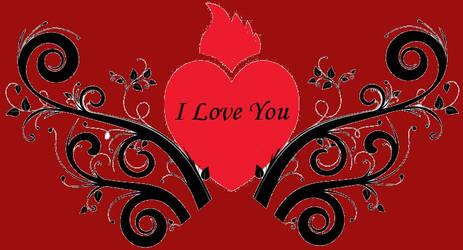 I love you by darkecojack