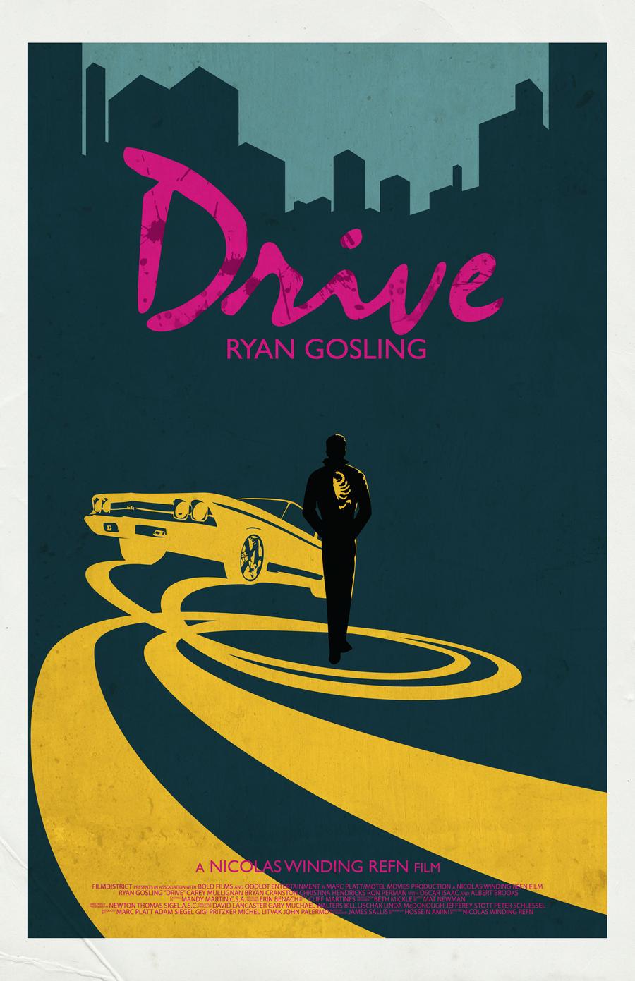 drive movie poster by jleeisme on deviantart. Black Bedroom Furniture Sets. Home Design Ideas