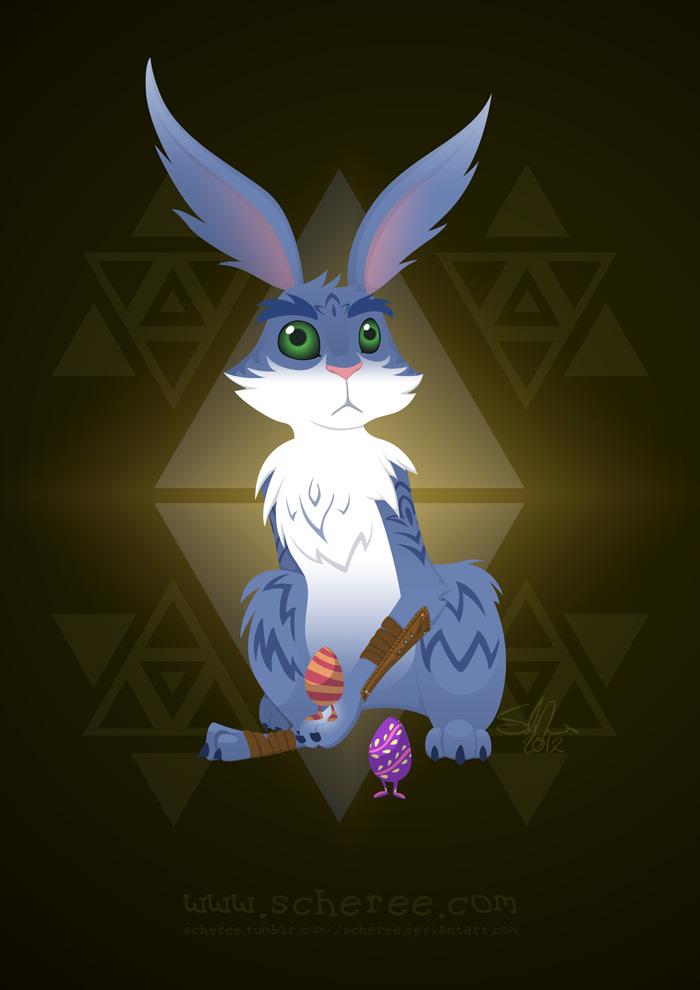Bunnymund by scheree