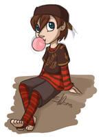 Bubble gum POP! by scheree
