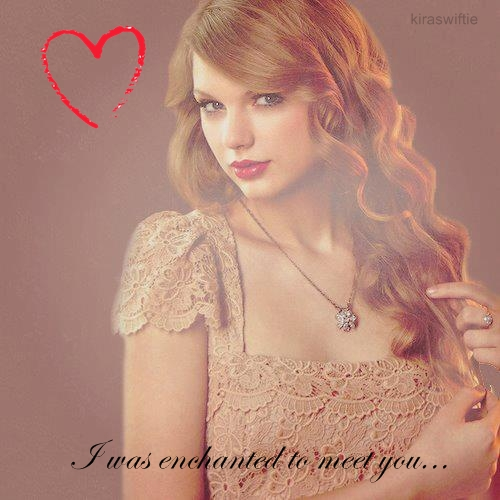 Enchanted To Meet Taylor Swift Digital Art By Kiraswiftie On Deviantart