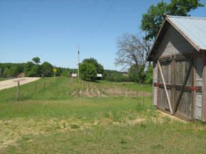 Stock Image Old Barn