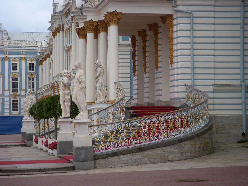 Catherine Palace Outdoor Staircase Side Picture By Mamc1986 ...