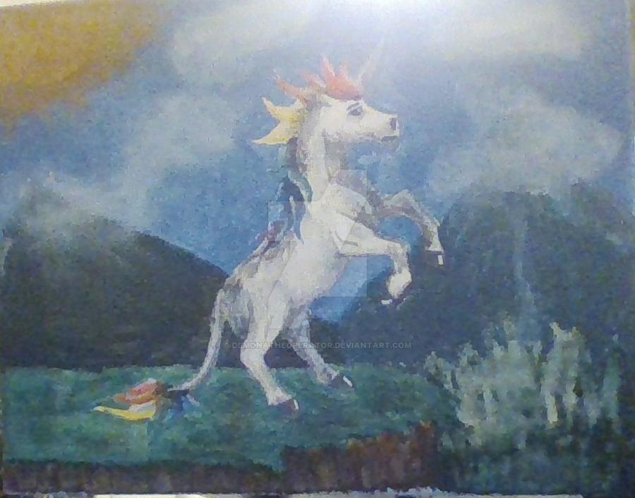 Unicorn by DemonaTheOperator