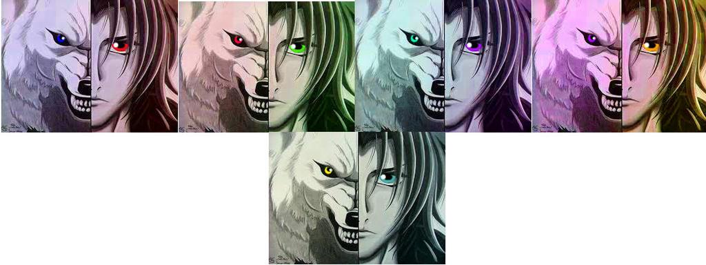 Kiba Pop Art (Wolf's Rain) by DemonaTheOperator