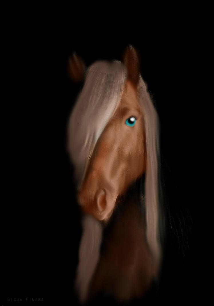 Beauty The Horse by DemonaTheOperator