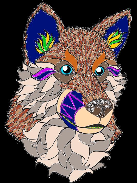 Mandala Husky by DemonaTheOperator