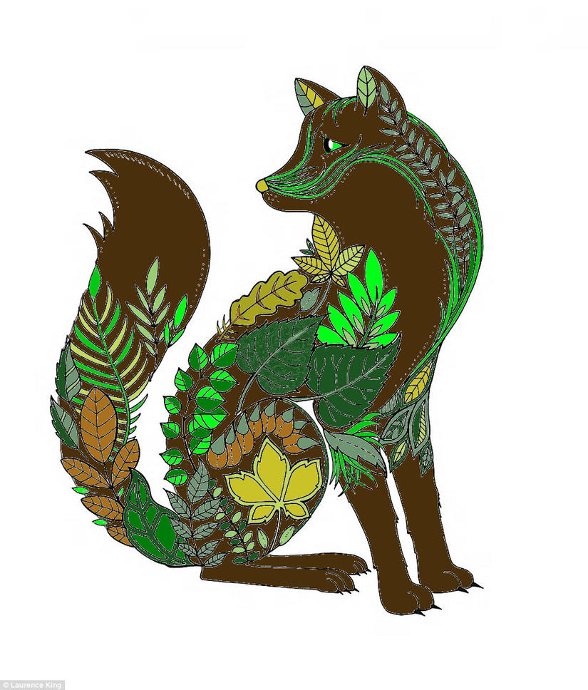 Forest Mandala Canine by DemonaTheOperator