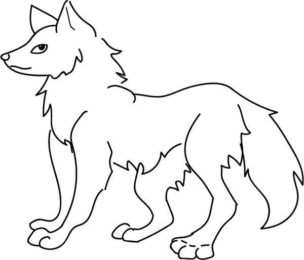 Husky Template (Vector) by DemonaTheOperator