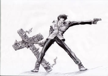 Trigun - Wolfwood by KaeltheArchon