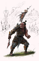 ORC samurai by rich4rt