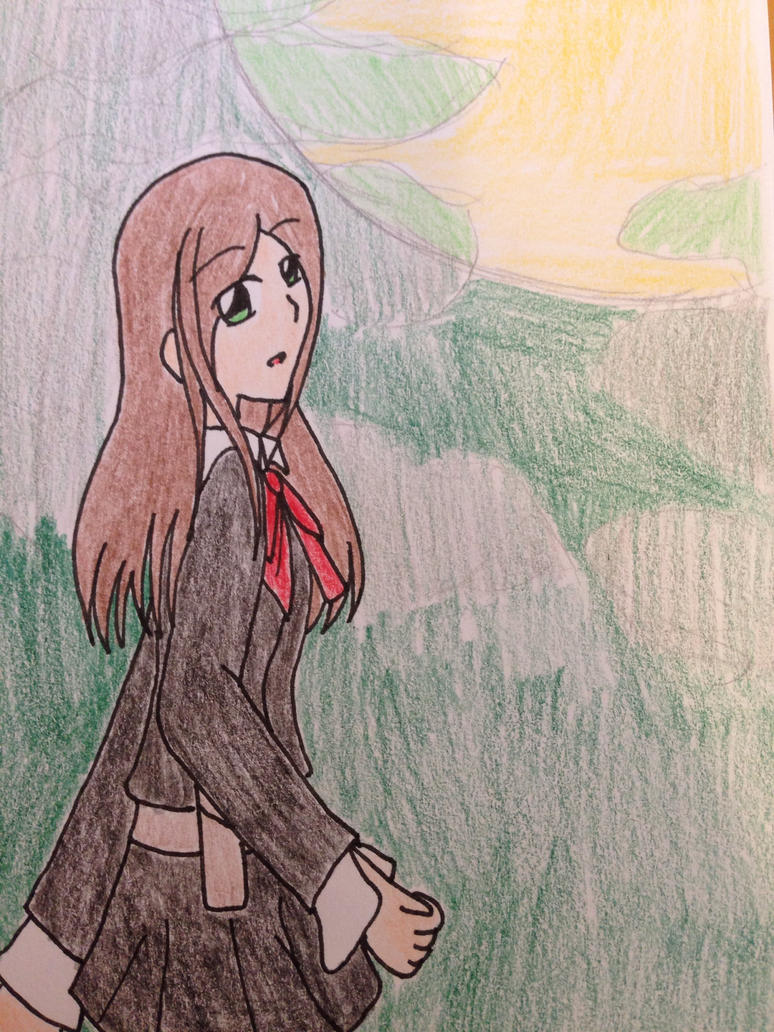 Persona 3 OC: Utako Urehara by kncrystalmaiden