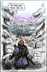 Red Cap Page Roughs - 01
