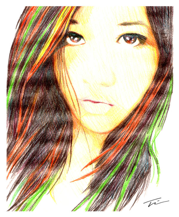 Color pencil sketch by twkeller