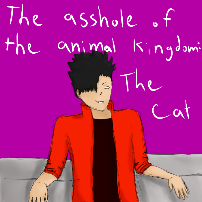 Asshole Of The Animal Kingdom by hegie