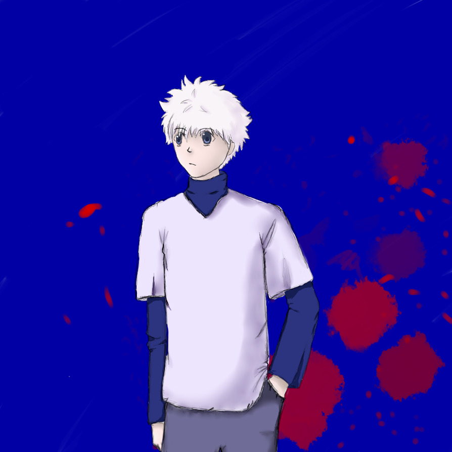 Killua by hegie