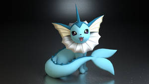 #134. Vaporeon by TheAdorableOshawott