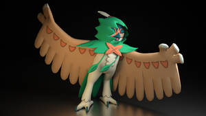 #724. Decidueye by TheAdorableOshawott