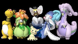 My Pokemon Moon team