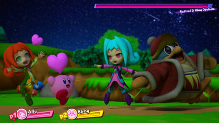 Ally in Kirby Star Allies!