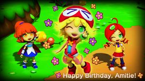 Happy Birthday, Amitie!