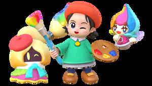 A Colorful Trio!