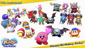 Kirby's 27th Anniversary!
