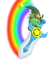 Ultra Sword Kirby!