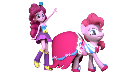 Pinkie Pie (Fall Formal and GGG outfits)
