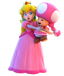 Peach and Toadette