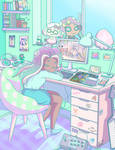 Marina Splatoon - Room