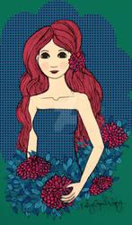 Rosa und Blau by valatdeviantart
