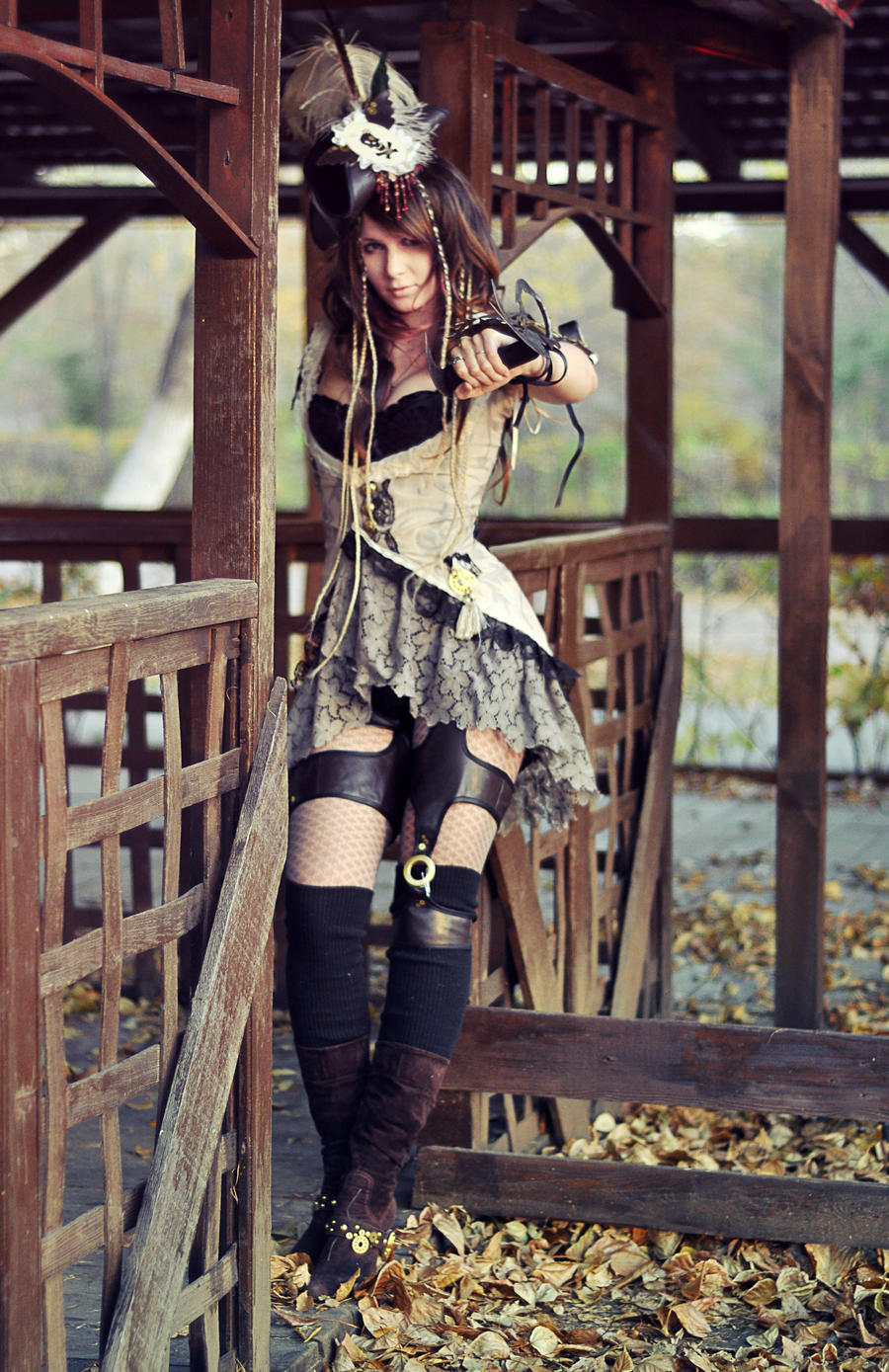 Steampunk Pirate Costume, Steampunk Fashion, Steampunk ...