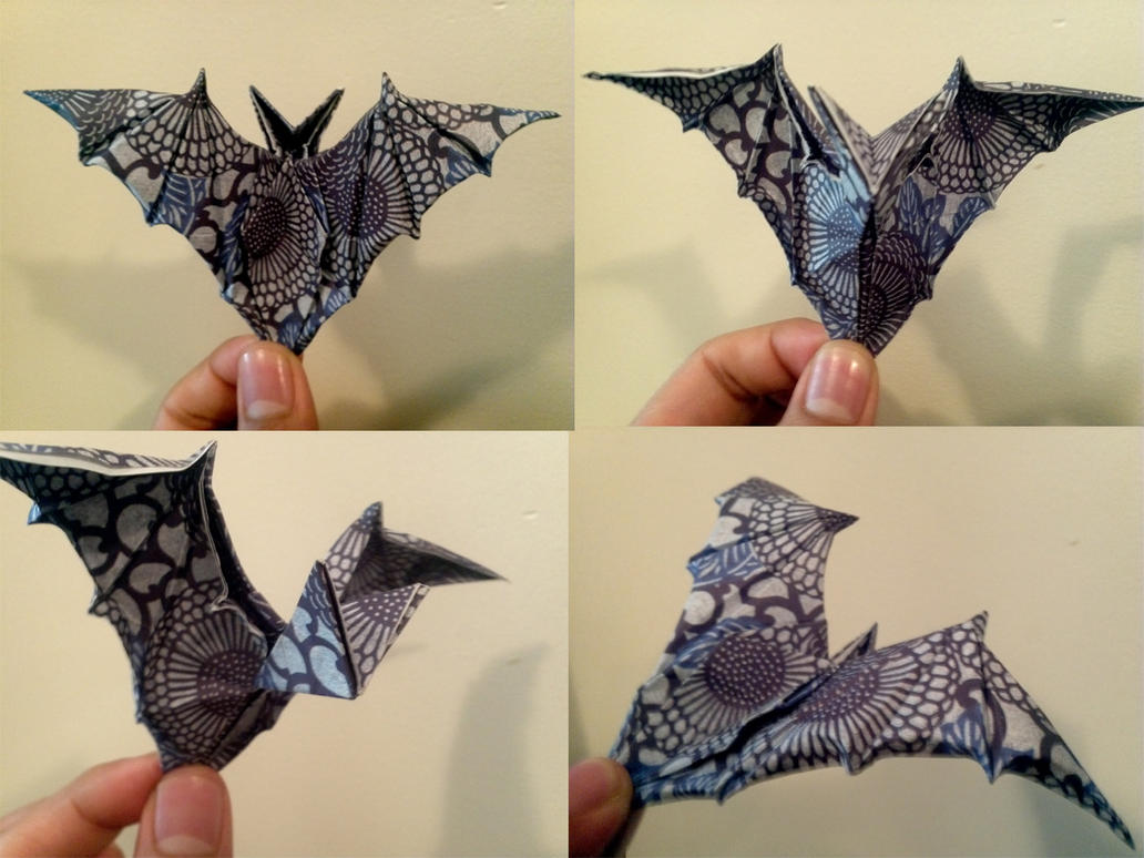 Ornamental Origami Bat By ZsAirax