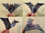 Ornamental Origami Bat